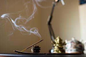 incenso meditazione zen